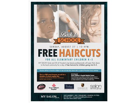 free haircuts houston texas free back to school haircuts houston tx patch