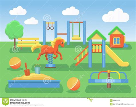 playground clip playground clipart background pencil and in color