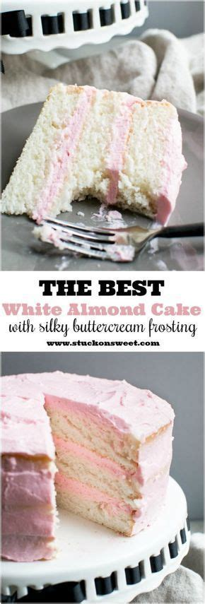 White Almond Cake   Recipe   Cake   Pinterest   Cake