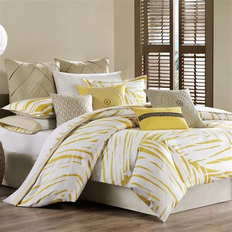 yellow bed comforter yellow bedding sets home ideas designs