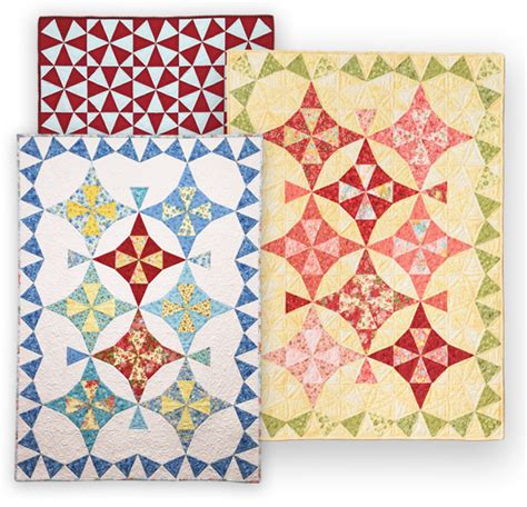 Eleanor Burns Chain Quilt Pattern by Kaleidoscope 2 Quilt Eleanor Burns Signature Quilt