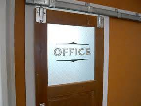 Office Signs For Glass Doors Office Door Hanging On Barn Rail This Is What I M Thinking Home Doors