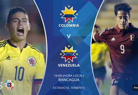 imagenes de venezuela vs colombia en vivo estad 237 sticas de colombia vs venezuela goal com
