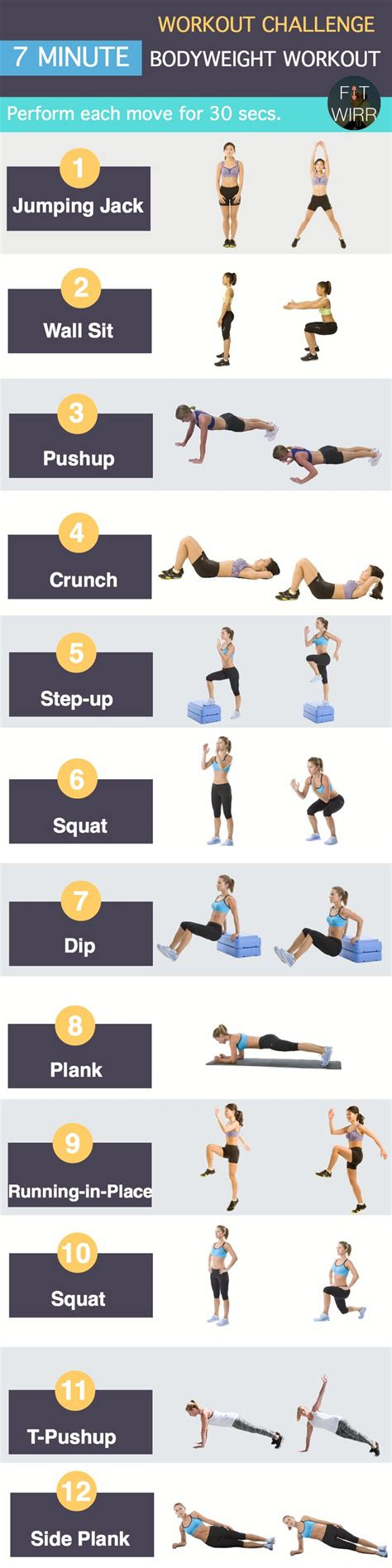 25 best ideas about 7 minute workout on 7