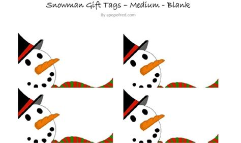 free printable snowman christmas gift tags snowman gift tags printable a pop of red