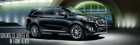 Kia Sorento Colours 2017 Kia Sorento Trims And Color Options