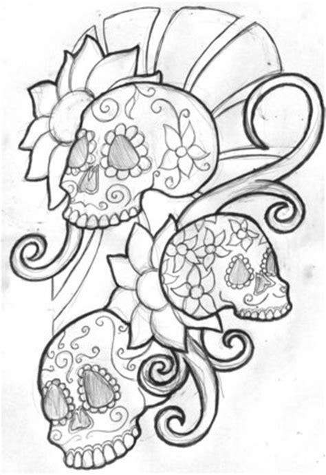 free skull tattoo designs to print bali design