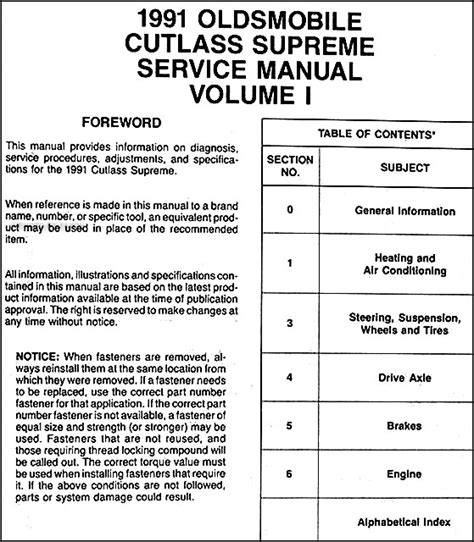 free online car repair manuals download 2002 oldsmobile bravada lane departure warning repair manual download for a 1994 oldsmobile cutlass cruiser cutlass supreme owners manual