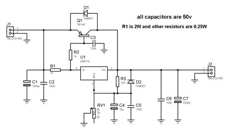 Adaptor 12v 5a Besar Power Supply Switching Led Jaring 5 Ere diagram electronic schematics diagram 36v adjustable power