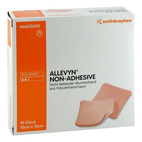 Allevyn Non Adhesive 10 Cm 20 Cm Foam Dressing allevyn non adhesive 10x10cm kompressen 10 st 252 ck bestellen medpex versandapotheke