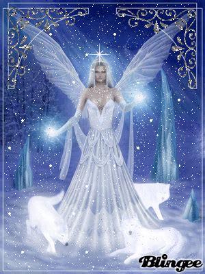 rescate en white angel immagine fata della neve 114382583 blingee com
