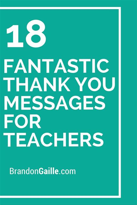 thank you letter to teacher gplusnick