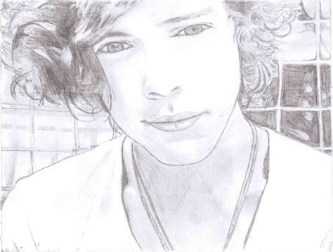 gallery for gt harry styles coloring sheets