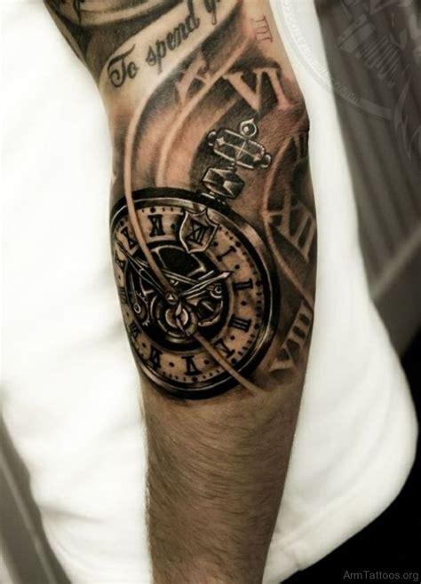 tribal clock tattoo 28 50 arm designs for sleeve tattoos 50