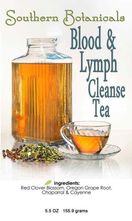 Blood Detox Tea by Blood Lymph Cleanse Tea 3 5 Oz Herbs