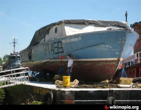 pt boat kingston ny ex uss pt 459 quot mahogany menace quot city of kingston new york