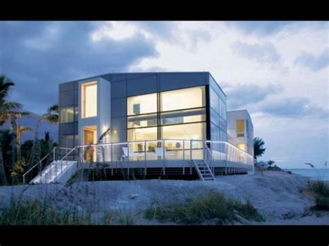 Lakefront House Plans by 20 Imaginative Modern Beach House Designs Youtube