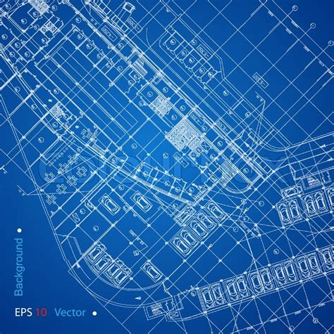 urban blueprint vector architectural background stock urban blueprint vector architectural background part