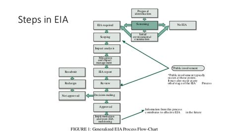 eia process flowchart environmental impact assessment