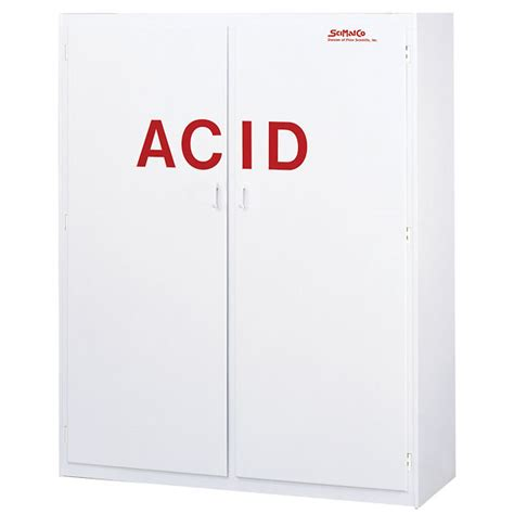 Acid Storage Cabinet Scimatco Polypropylene Acid Storage Cabinet 100 X 2 5 L Bottle Capacity From Cole Parmer
