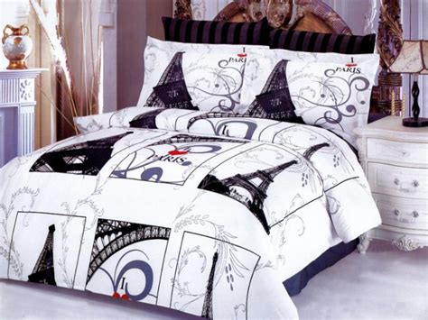 Eiffel Tower Comforter Set eiffel gray iconic images of the world eiffel