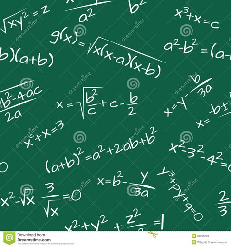 pattern math formula formula math seamless pattern stock photos image 33065263