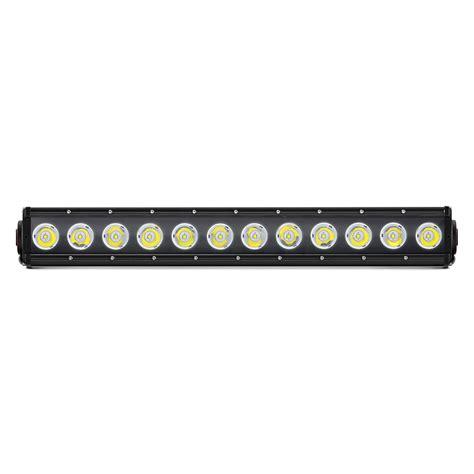 Spot Led Light Bar Lumen 174 N1120 1 Sp 21 Quot 120w Single Row Spot Beam Led Light Bar With Illuminated End Caps