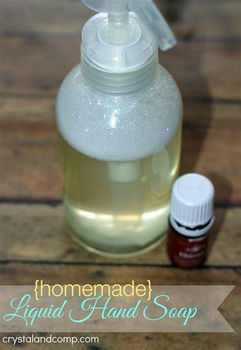 Handmade Liquid Soap - liquid soap using thieves