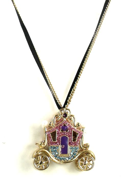 betsey johnson jewelry imperial carriage necklace bellabacci