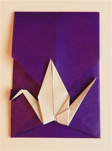 Cutting Origami - origami crane envelope 183 an envelope 183 origami on cut out