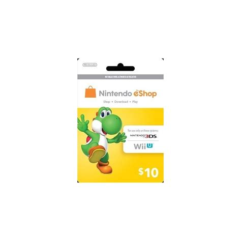 Eshop Gift Card Switch - tarjeta nintendo eshop gift card 10 codigo prepago switch wii u 3ds nany41