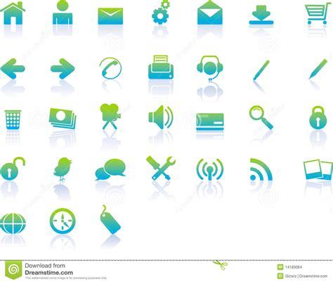 imagenes iconos web iconos modernos del web imagenes de archivo imagen 14183084