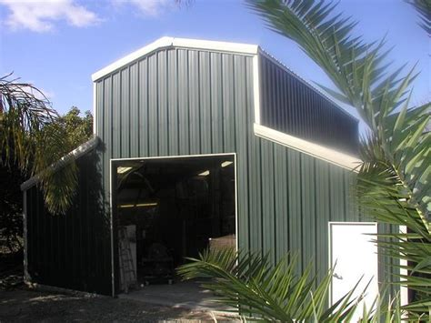 metal storage buildings and garages industrial garage