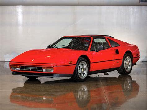 Classic Interior 1985 Ferrari 328 Gts Us Spec Supercar Classic G Wallpaper