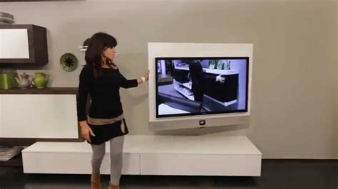 Tv Mobil Evo mobile porta tv quot rack evo quot il primo porta tv orientabile con sistema audio integrato