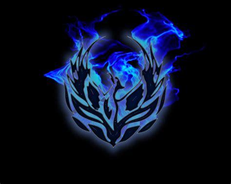 wallpaper blue phoenix fiery blue phoenix by marauderxla on deviantart