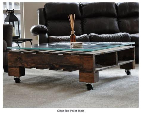 table basse en palette ideal mag
