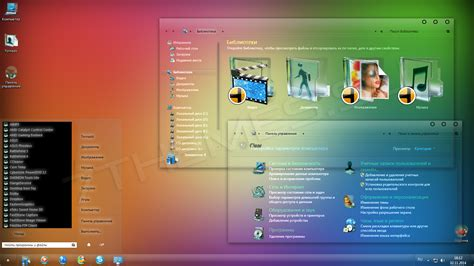 pc glass themes clear 3 0 glass windows 7 themes download for pc free