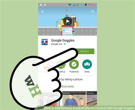 How To Add A Gift Card To Google Wallet - how to add business cards as iphone contacts with google goggles