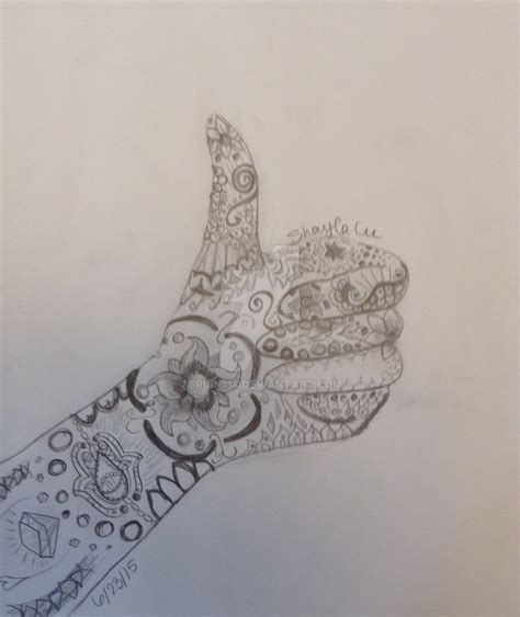up doodle thumbs up doodle by bruin314 on deviantart