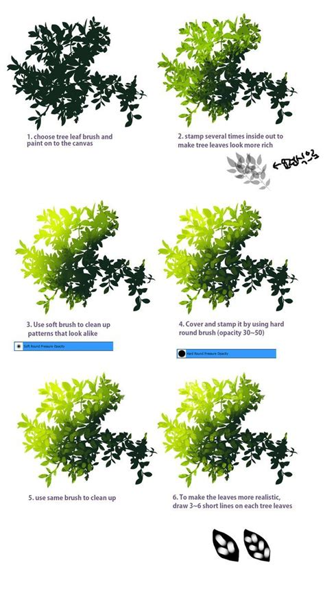 paint tool sai tree tutorial 499 best images about drawing and painting tutorial on