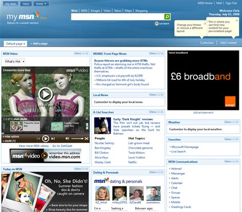 www msn com msn driverlayer search engine