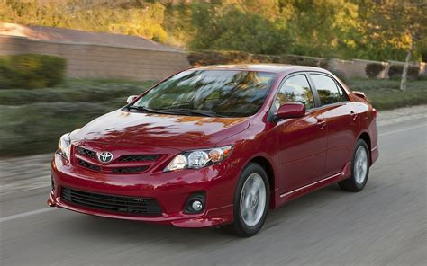 2012 Toyota Corolla Toyota Corolla 2012 Widescreen Car Photo 29 Of 64