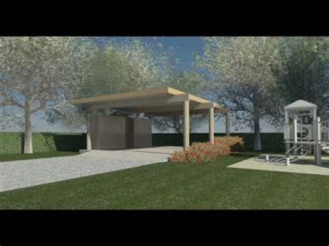 Detached Garage Design clifford o reid architect modern carport design youtube