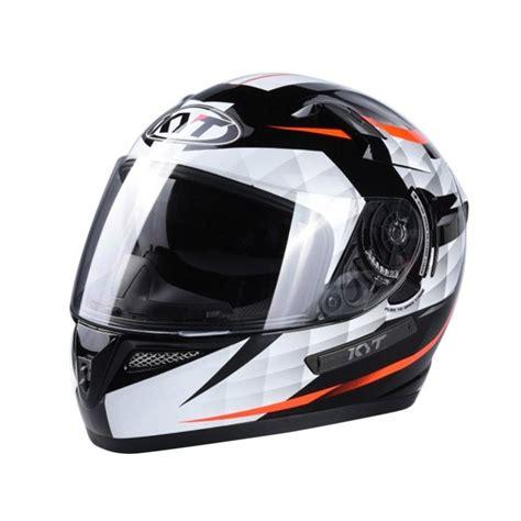 Helm Kyt Rider jual kyt k2 rider helm black white harga kualitas terjamin