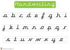handwriting sheets ks2