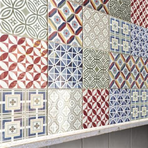 Patchwork Effect - baked tiles page blogs about wall floor tiles