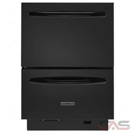 kitchenaid double drawer dishwasher price kitchenaid kudd03dtbl dishwasher canada best price