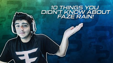 10 Things About Holzier You Didnt by 10 Things You Didn T About Faze