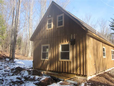 board and batten cabin amish cabin homes housing shells in oneonta ny amish